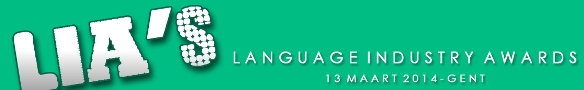 13 maart, Gent: Language Industry Awards