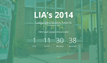Language Industry Awards / LIA's laatste update!
