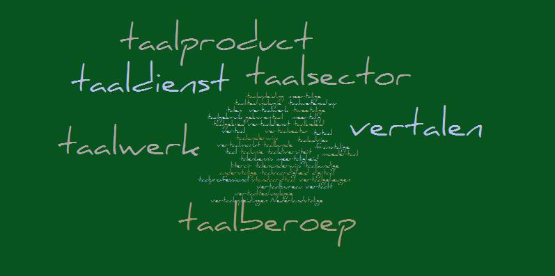Terminologie van de taalsector