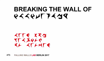 Text2Picto Falling Walls Berlin